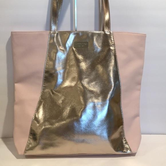 b68e66506f Jimmy Choo Handbags - JIMMY CHOO PERFUME TOTE BAG PINK ROSE GOLD